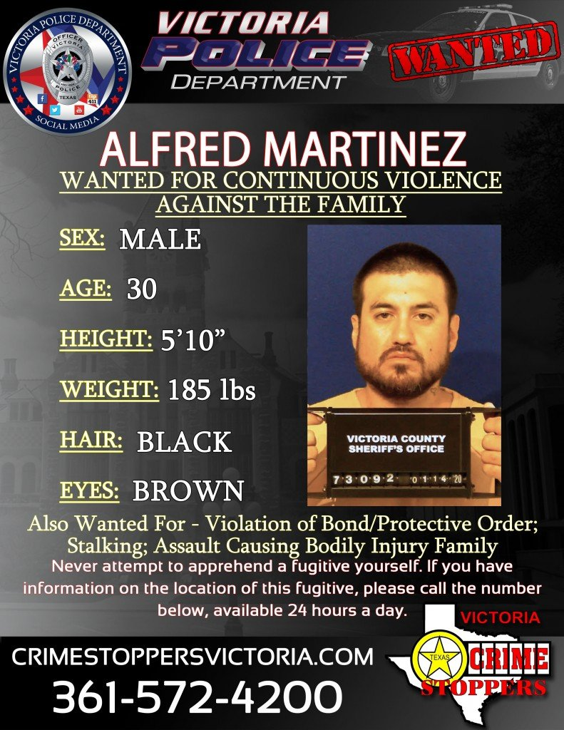 Wanted Alfred Martinez