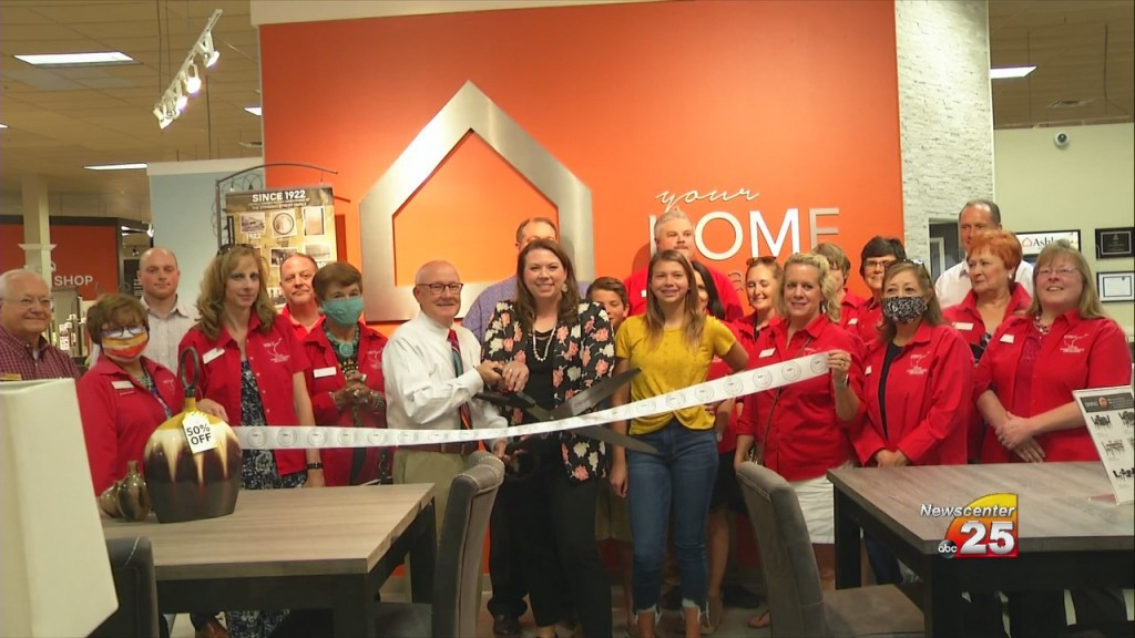 Ashley Furniture Grand Reopening