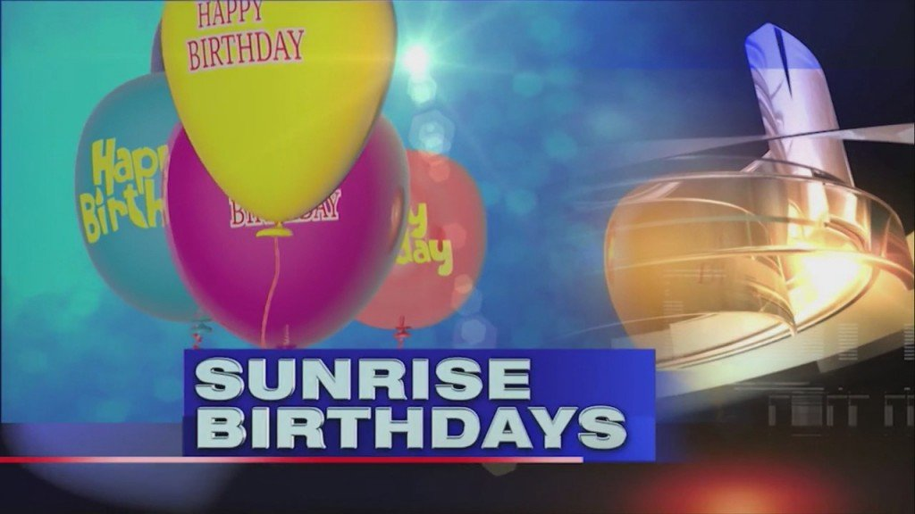Sunrise Birthdays (6/17/2020)