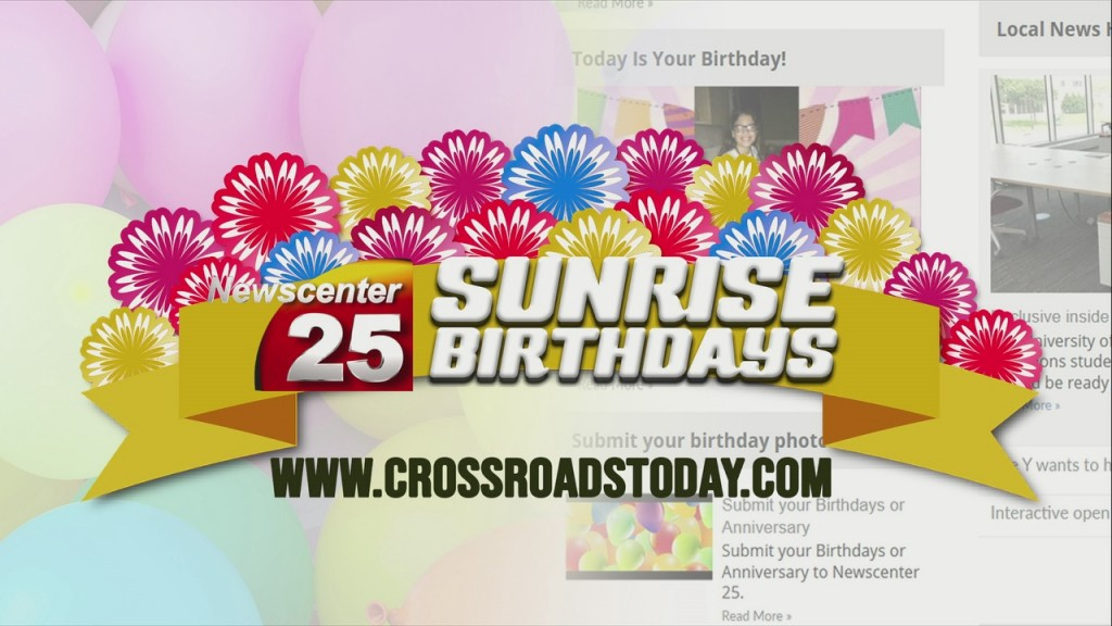 Sunrise Birthdays (06/29/2020)