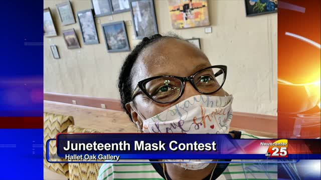 Winners Of The 2020 Hallet Oak Gallery's Juneteenth Celebration Mask Contest