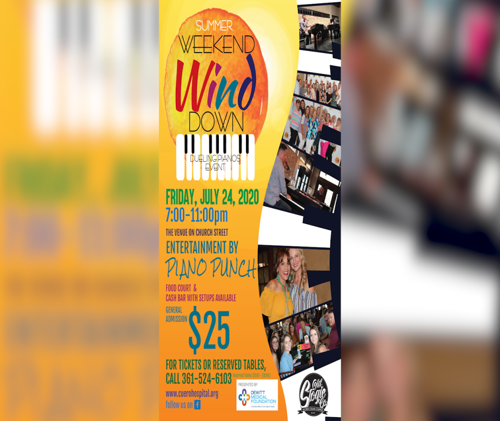 Deuling Pianos in Cuero will take place in July