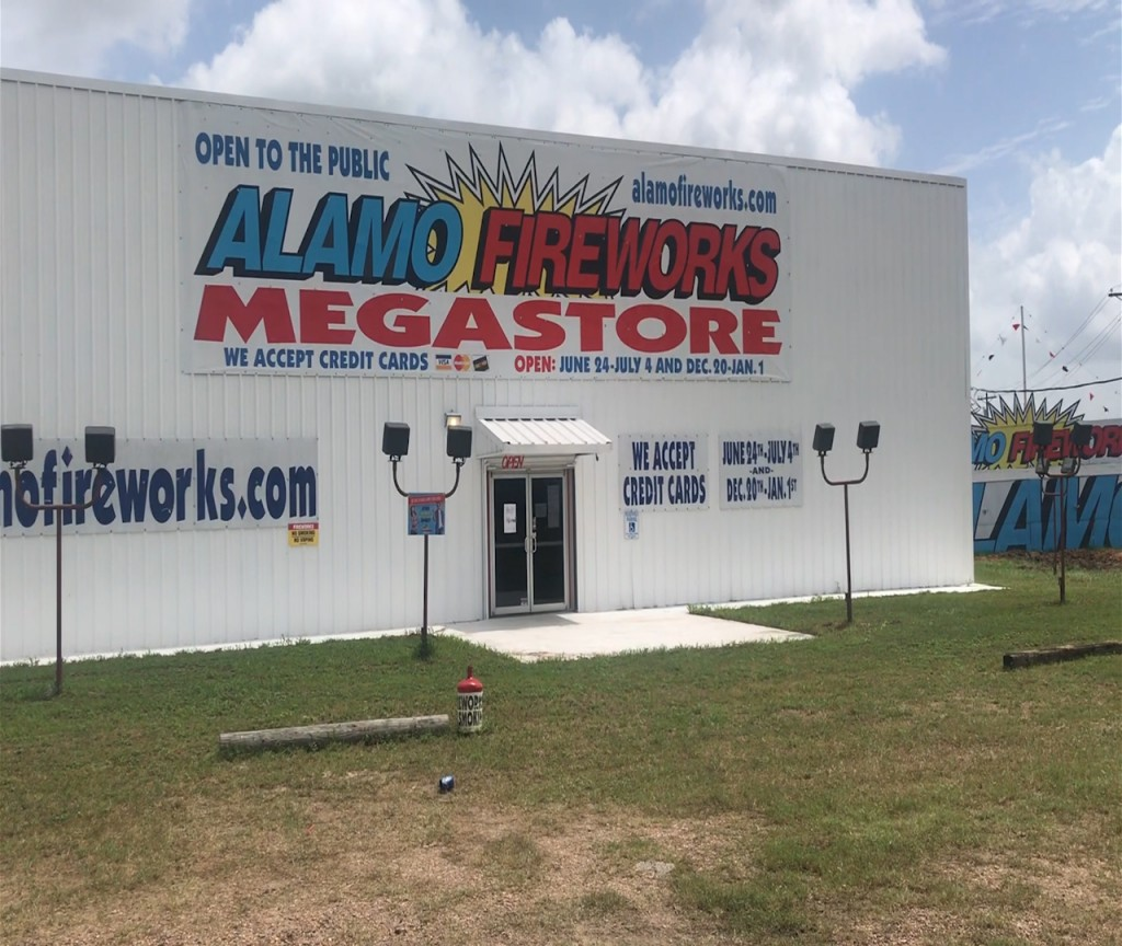 Alamo Fireworks has seen a spike in sales during the COVID-19 Pandemic