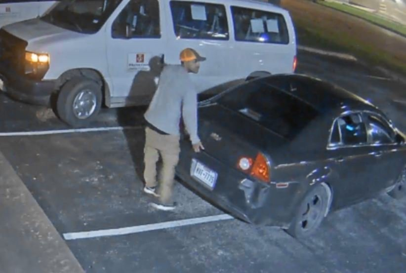 Wharton Police Department is searching for two suspects that may be linked to several burglaries