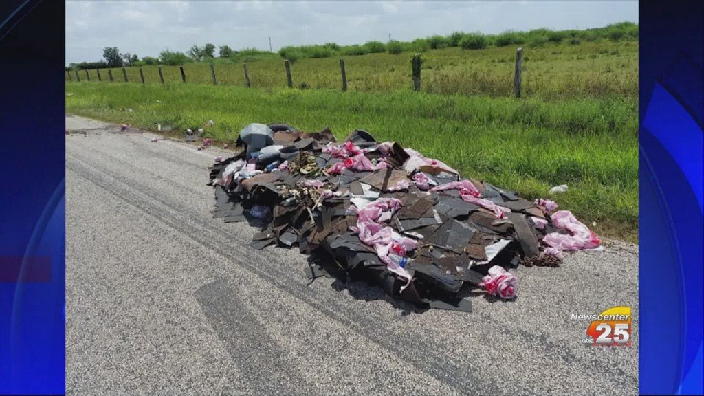 County Commissioner Warns Against Littering