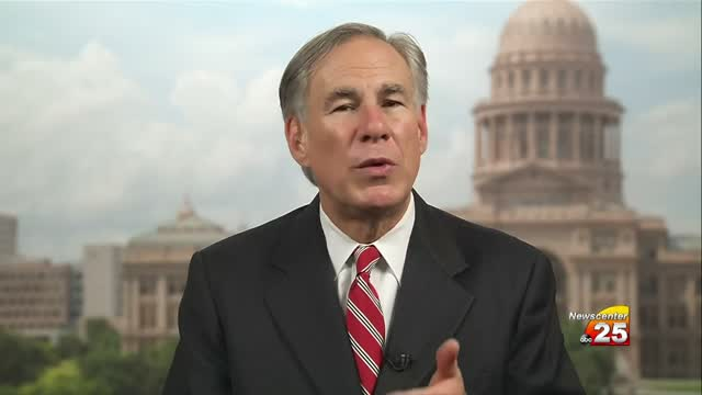 Newscenter 25 Interviews Gov. Abbott July 1st