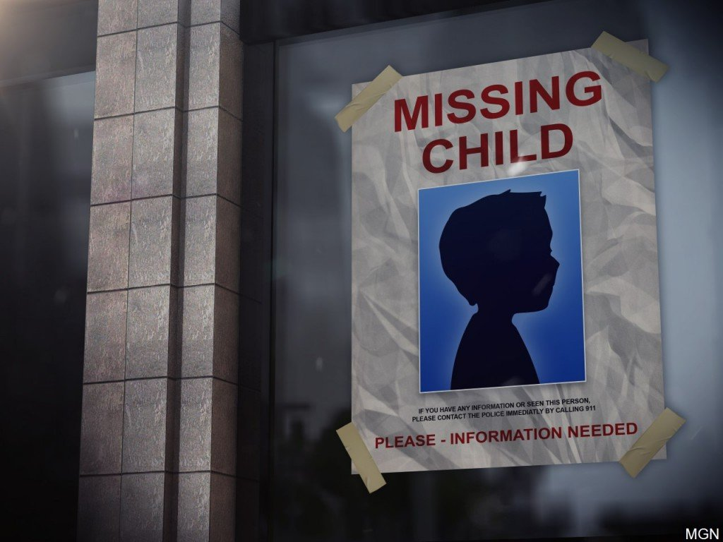 Missing child campaign