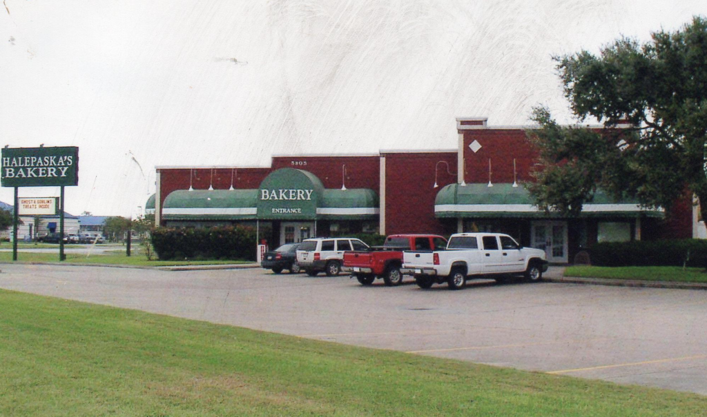 Vintage photo of Halepaska's Bakery