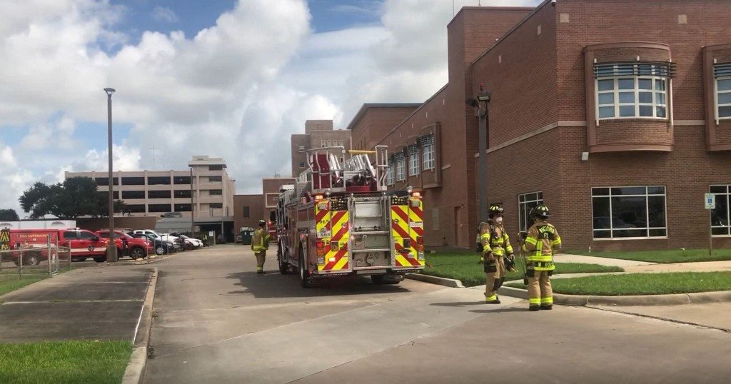 A fire at Citizens Medical Center
