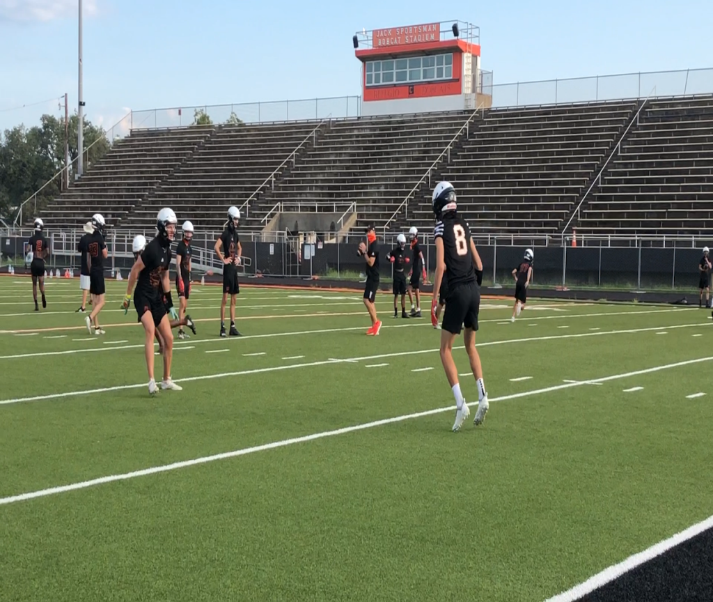 Refugio football team working towards another championship
