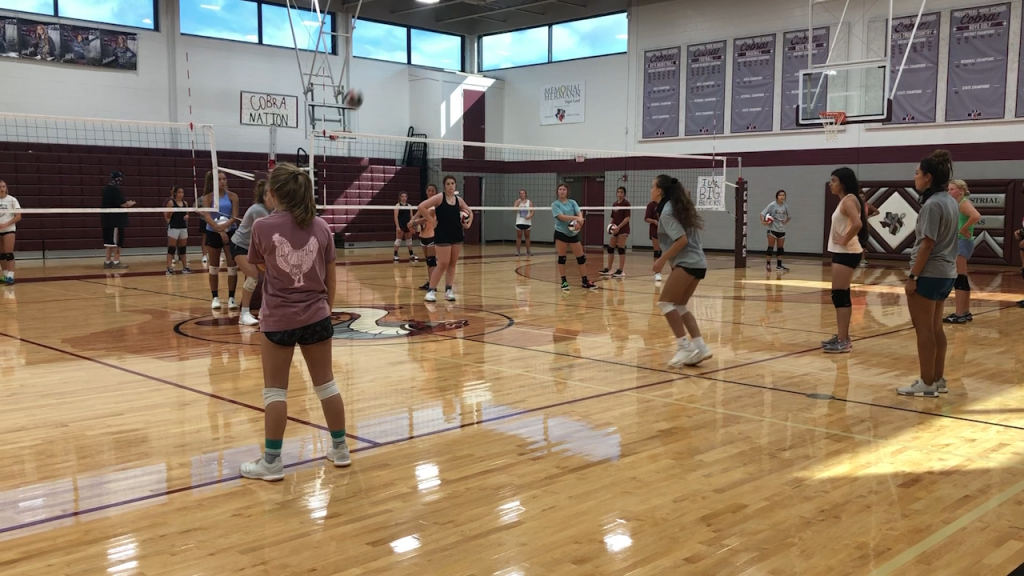 Reigning Volleyball champions return to work