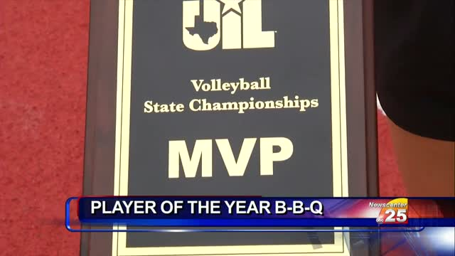 Local Volleyball Star To Receive Award At B B Q Saturday