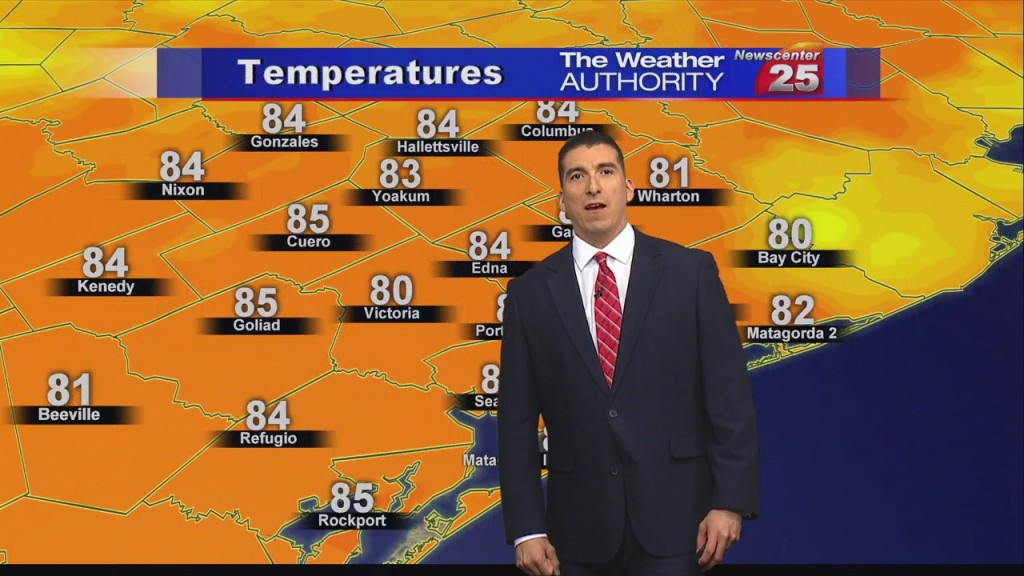 Brian's Saturday Evening Forecast (9/12)