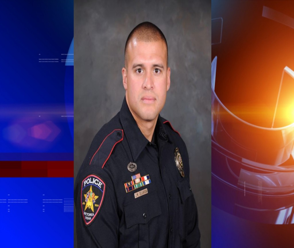 We are taking a moment to recognize Jon De La Rosa for being the Police Officer of the Year