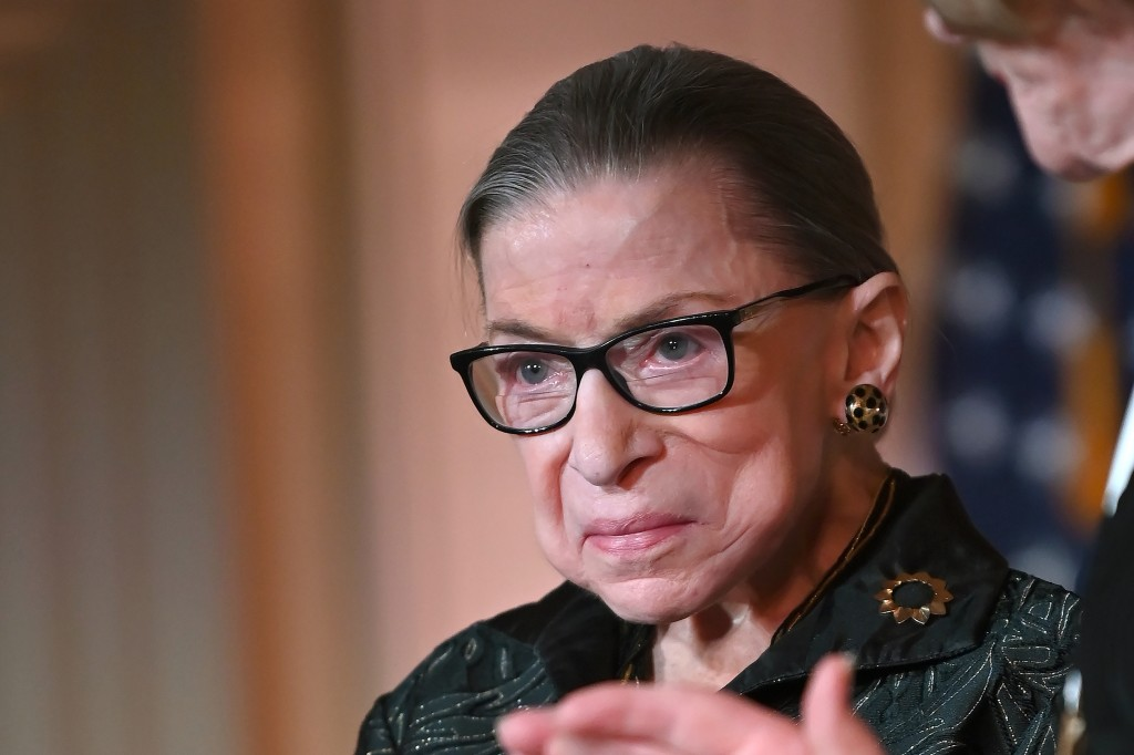 Justice Ruth Bader Ginsburg Presents Inaugural Woman Of Leadership Award To Agnes Gund