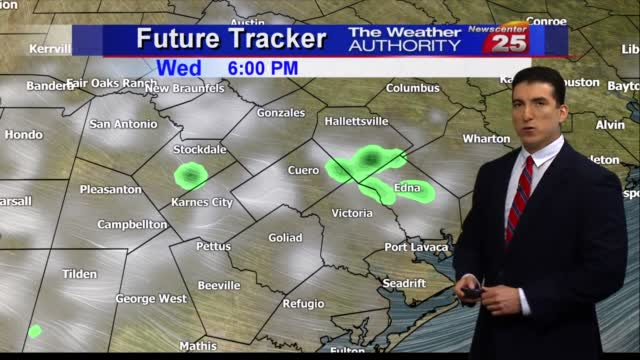Brian's Tuesday Evening Forecast (10/20)