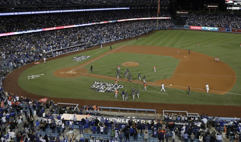 The Houston Astros will play the Oakland Athletics at Dodgers Stadium in the ALDS