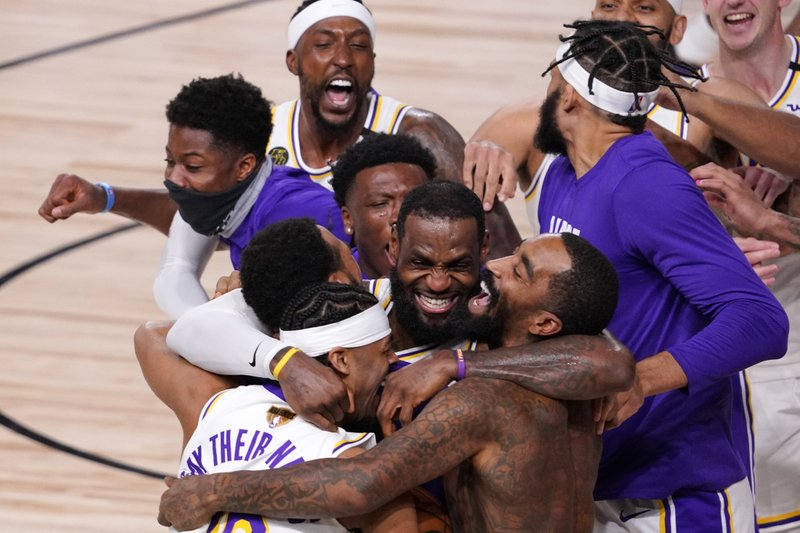 Lakers win their 17th NBA Championship in franchise history