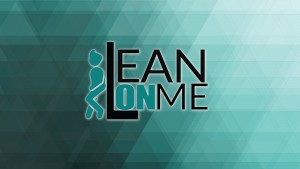 Lean On Me Logo And Background