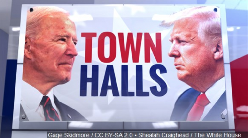 Trump and Biden Town Halls