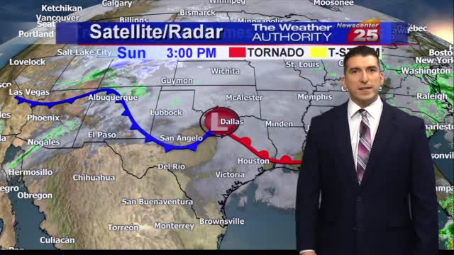 Brian's Sunday Evening Forecast (10/25)