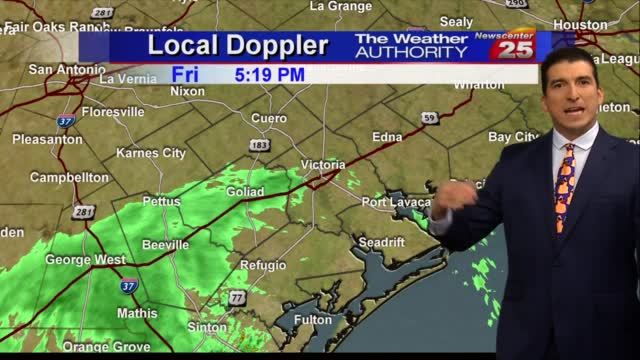 Brian's Friday Evening Forecast (10/16)
