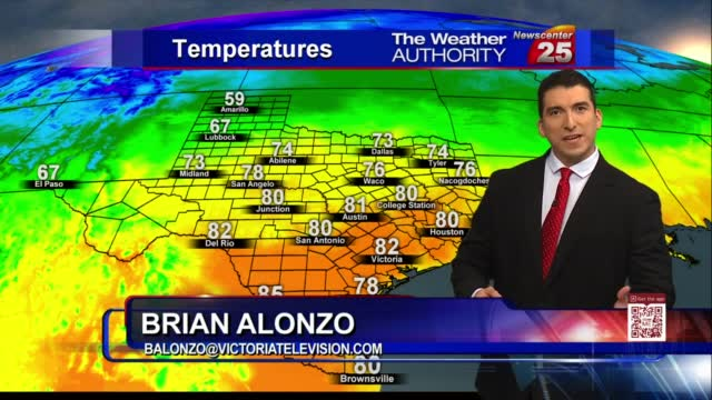 Brian's Wednesday Evening Forecast (11/11)