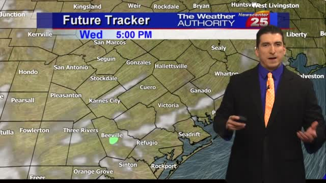 Brian's Tuesday Evening Forecast (11/10)