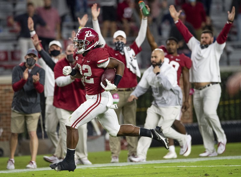 No. 1 Alabama leads locked-in top 8 for 4th week