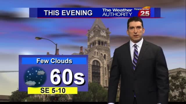 Brian's Thursday Evening Forecast (11/19)