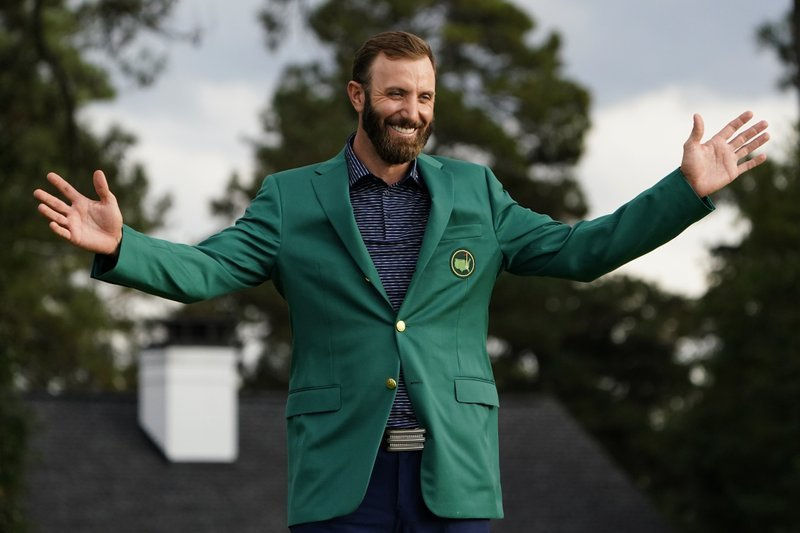 Dustin Johnson wins the 2020 Masters