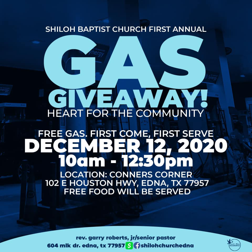 Shiloh Baptist Church Gas Giveaway