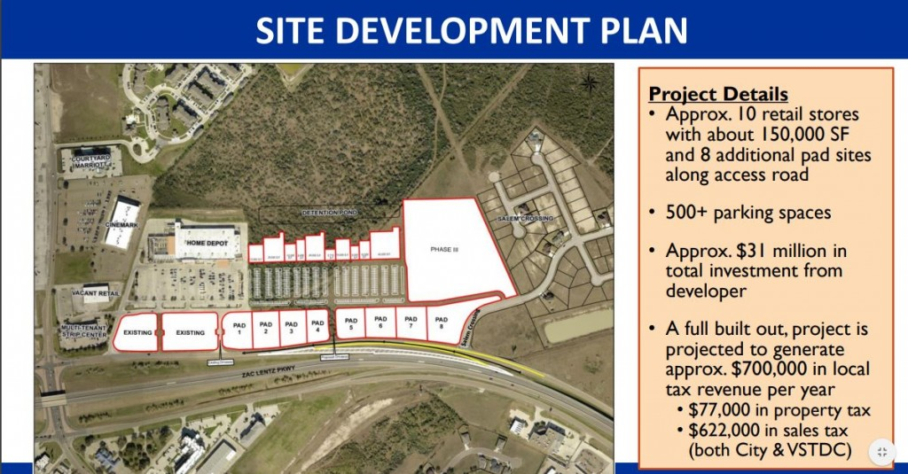 The City Council approved an new exit ramp that will make a way for an 31M shopping center