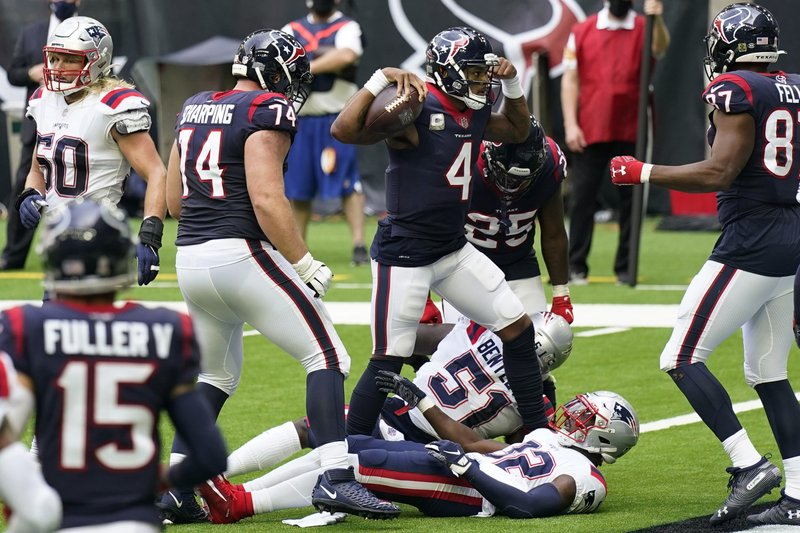 Texans win game against Patriots
