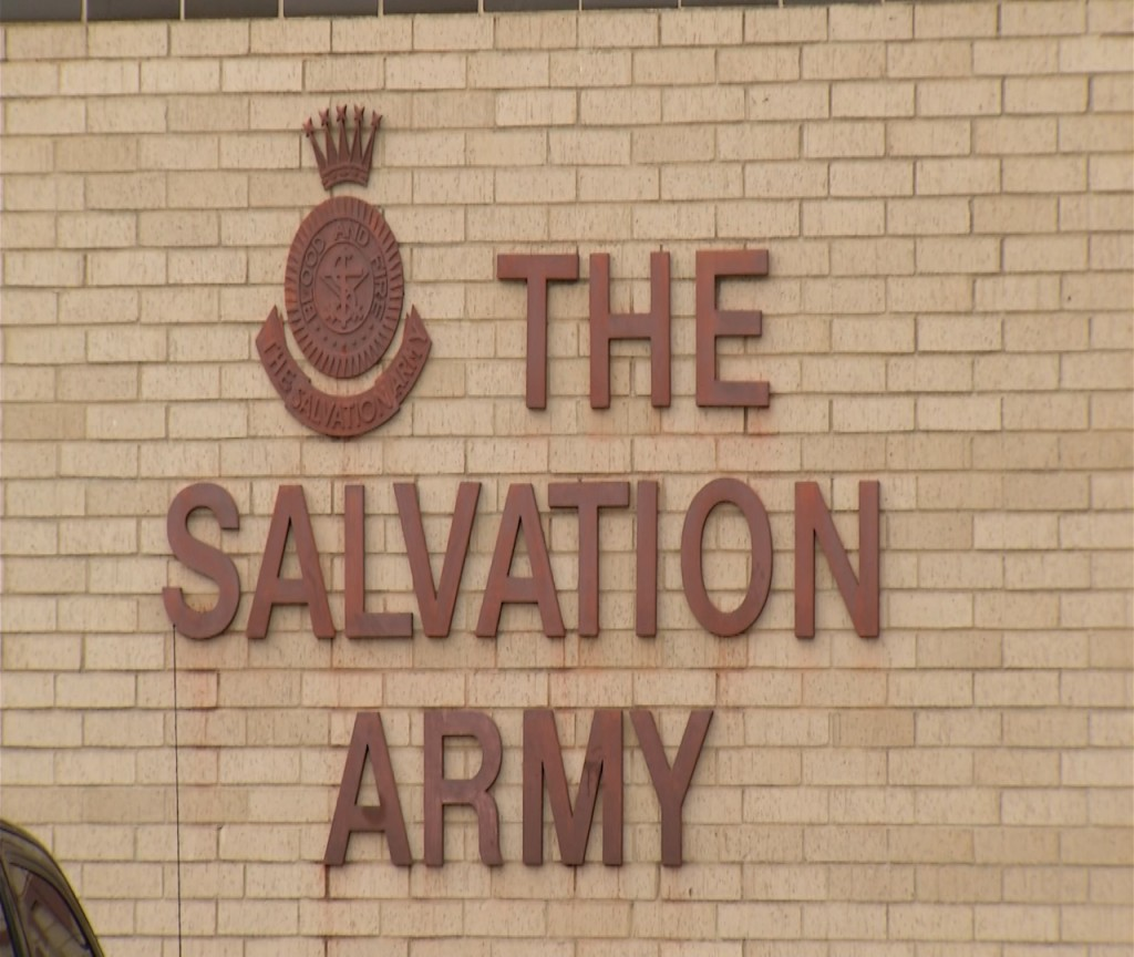 The Salvation Army in Victoria was burglarized