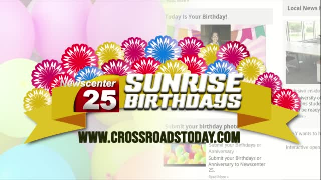 Sunrise Birthdays Thursday 1 21 21