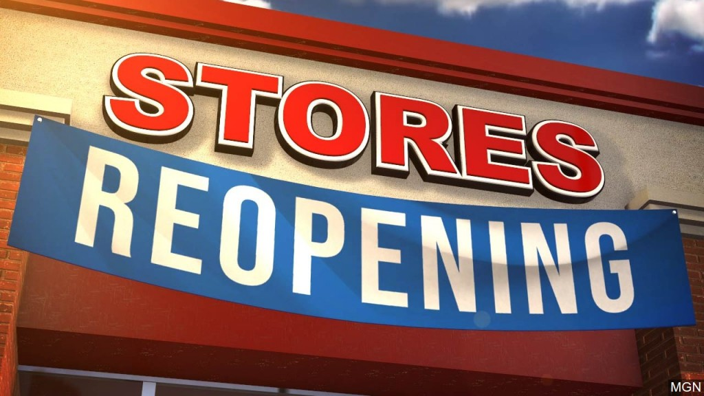 Businesses in Victoria and surrounding counties are allowed to operate at 75% occupancy
