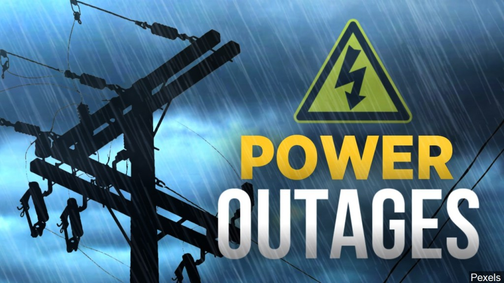 Power Outages may continue throughout the night