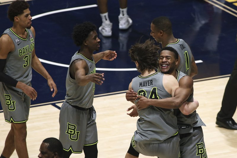 No. 3 Baylor clinches B12 title in OT, 94-89 over No. 6 WVU