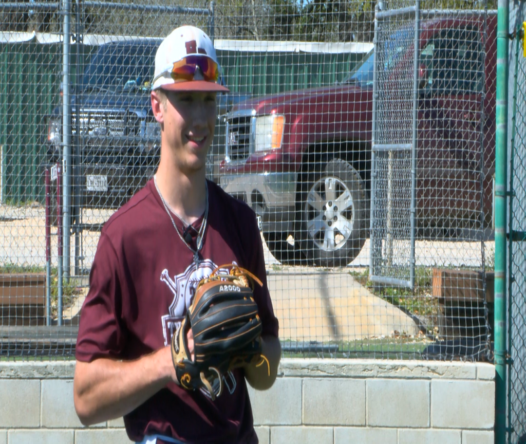 Athlete of the Week is Brahmas' Kyler Chovanetz for the week of March 22-26