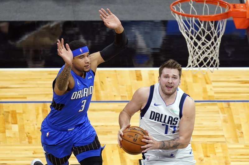 Mavs star Doncic ruled out against Thunder with back issue