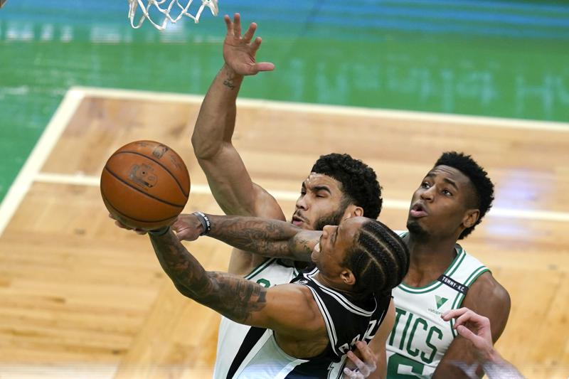 Celtics Rally From 32 Point Deficit Top Spurs 143 140 In Ot