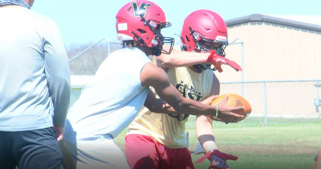 East Titans start their football spring training
