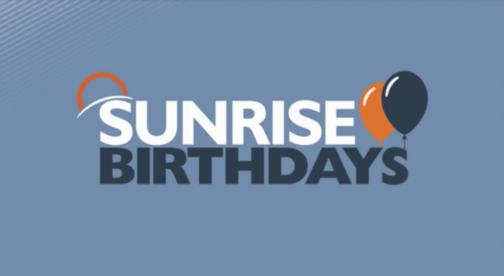 Sunrise Birthday New 4 13 21
