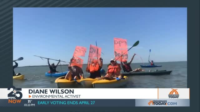 Kayakers From Across The State Gathered To Support A Hunger Strike To Stop The Dredging