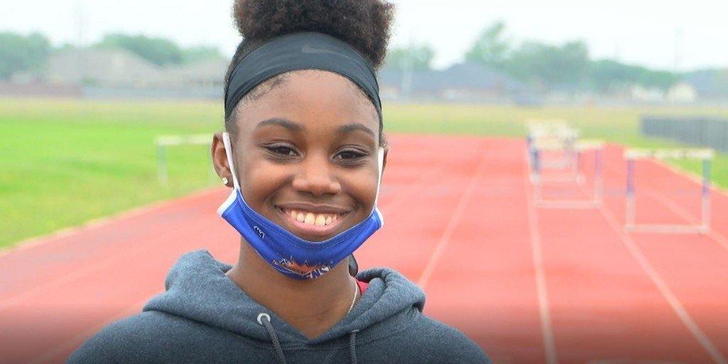East Titans Track And Field Freshman Cniaha Randle