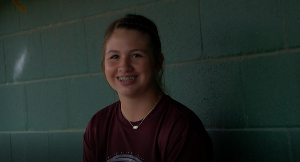 Athlete Of The Week Is Hallettsville Lady Brahmas Freshman Pitcher Kylie Olivarez