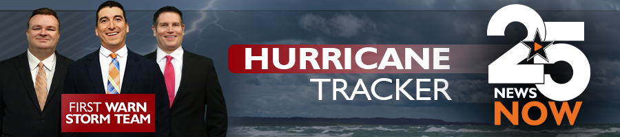 Hurricane Tracker Page Banner Image