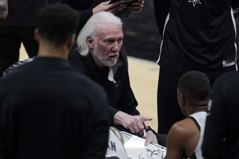 Popovich Misses Game To Attend Duncans Hall Enshrinement