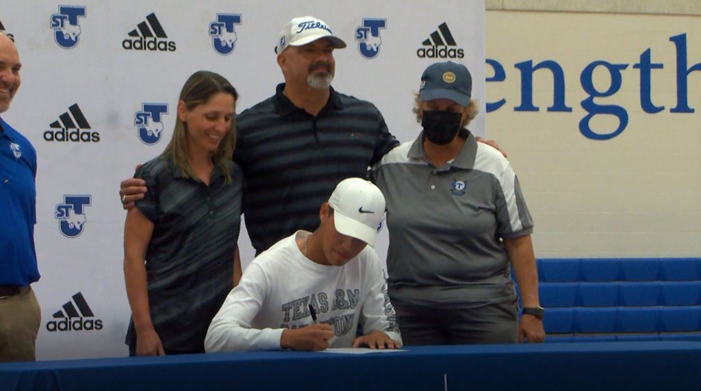 Four St Joes Athletes Sign Their Letter Of Intent